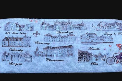"""Trousse """"Les Châteaux de la Loire"""""""