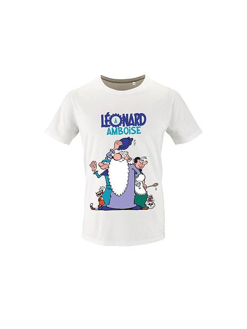"Tee-Shirt Enfant ""Personnages BD"""