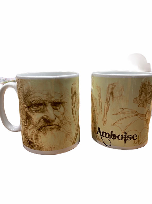 "Mug "" Léonard Da Vinci """