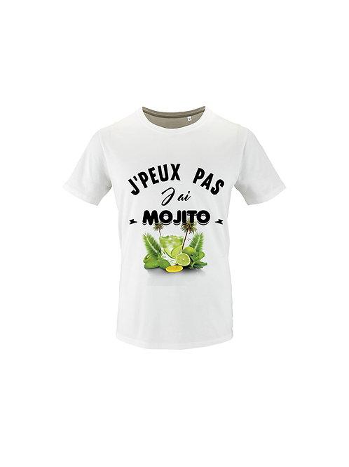 "Tee-Shirt ""JPeux pas j'ai mojito"""