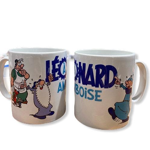 "Mug ""Personnages BD Léonard"""
