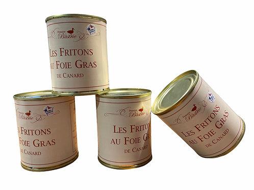 Les Fritons au foie de Canard - Domaine de La Bastrie