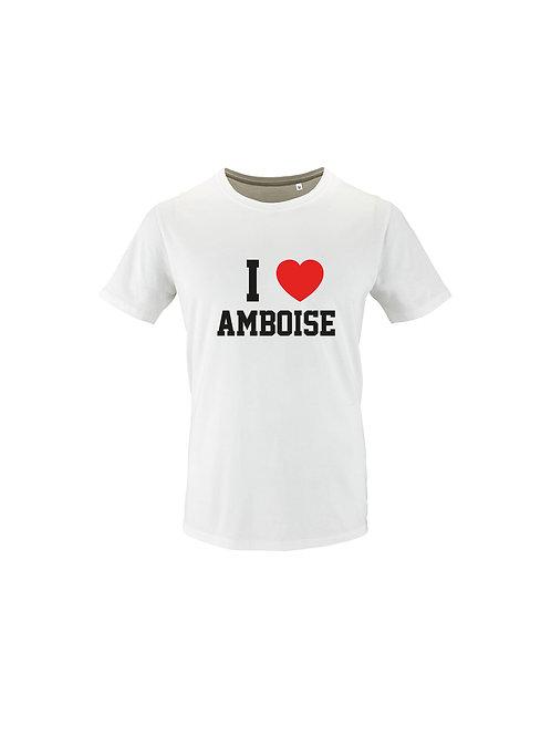 """Tee-Shirt """"I LOVE AMBOISE"""""""