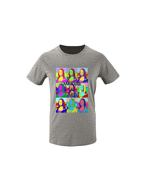 Tee-Shirt Pop'Art Joconde