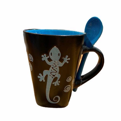 """Mug """"Salamandre - Cuillère"""""""