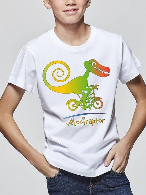 "Tee-Shirt ""Vélociraptor"""