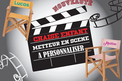 """Chaise enfant """"Metteur en scène"""""""
