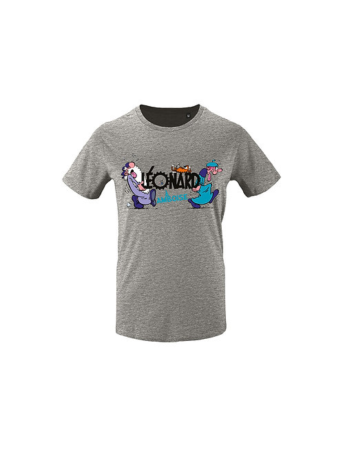 """Tee-Shirt """" Léonard & Disciple"""""""