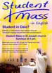 English mass for students