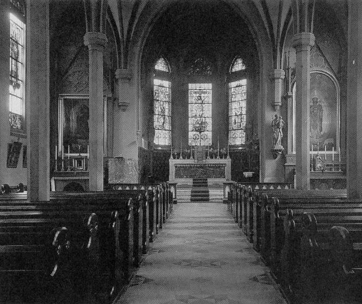 Historisk bilde av St. Olav kirke