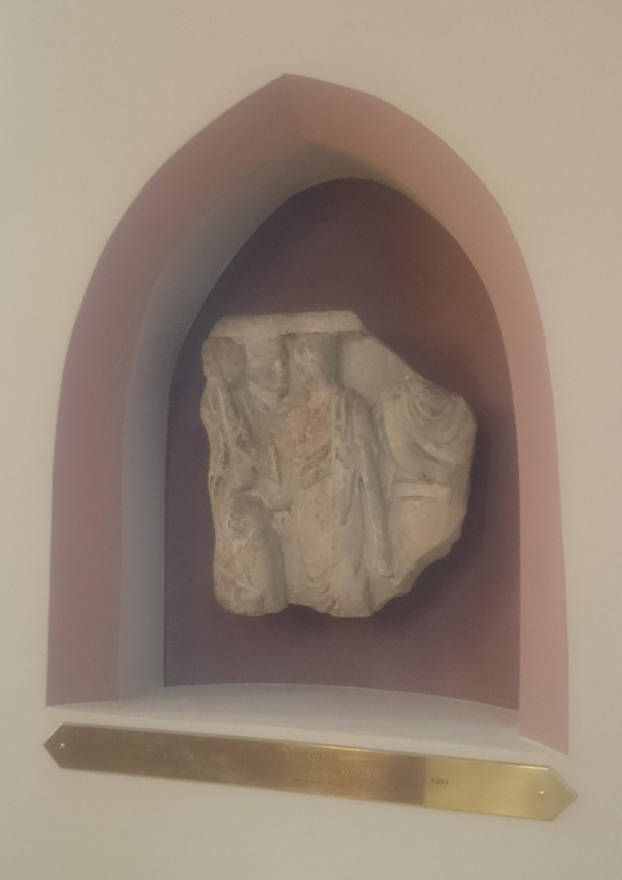 Ruin fra gammel katolsk kirke