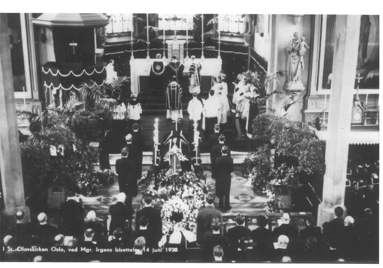Begravelse i St. Olav kirke