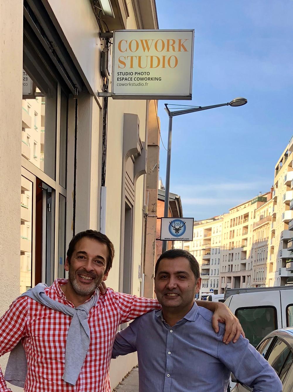 Arik & Sylvain coworkstudio founders