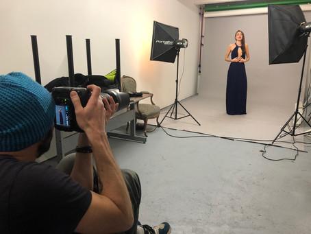 Séance photo pour un book photo au Cowork Studio Lyon