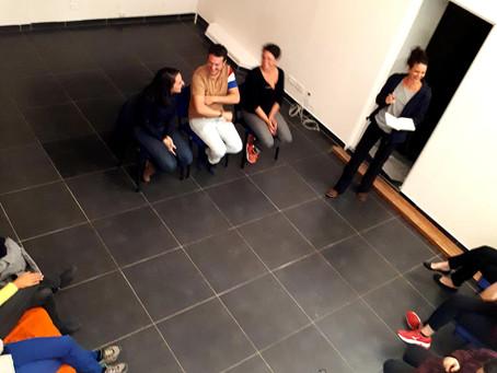 Atelier théâtre au Cowork Studio Lyon