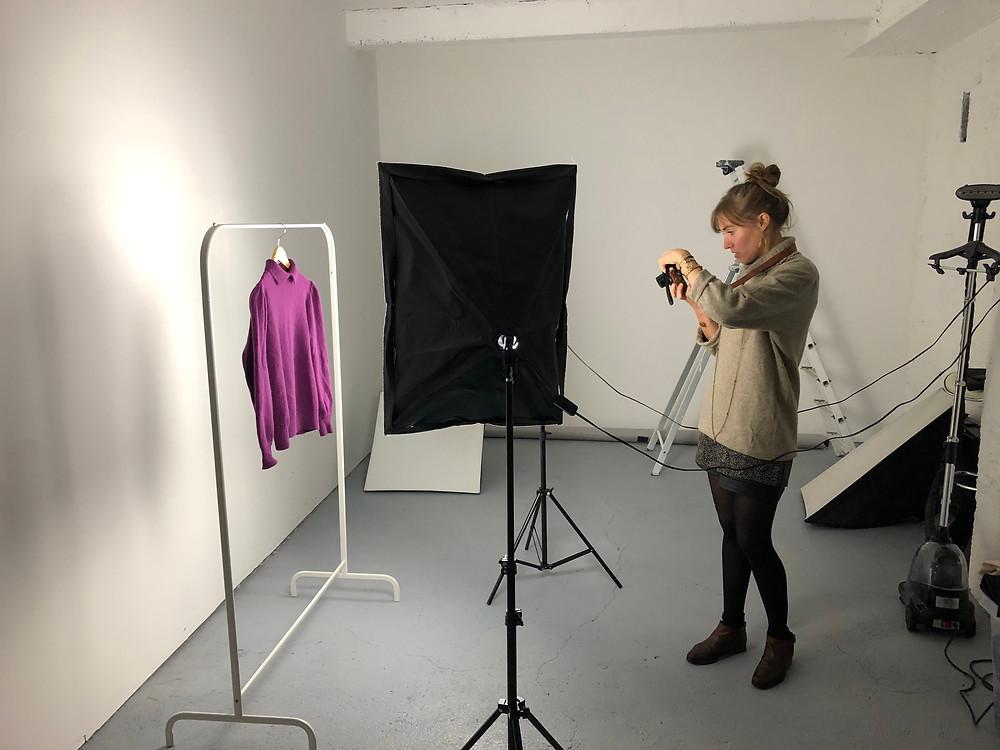 Séance studio pour Elsa