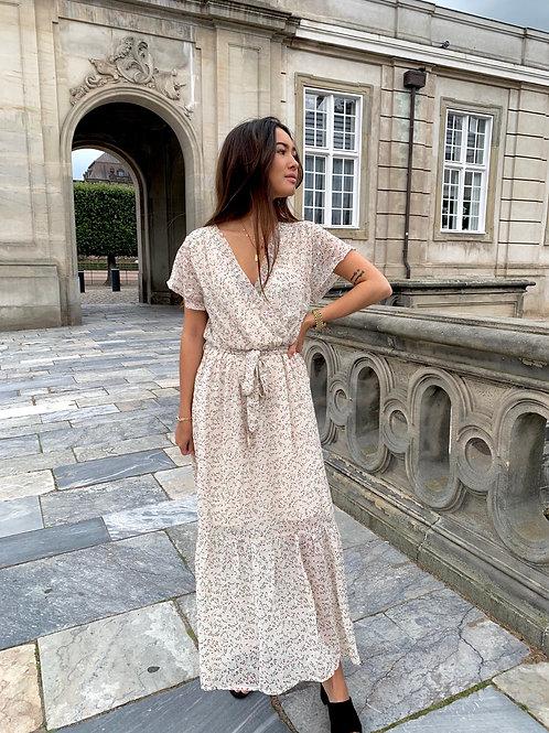 Leonora Dress Beige