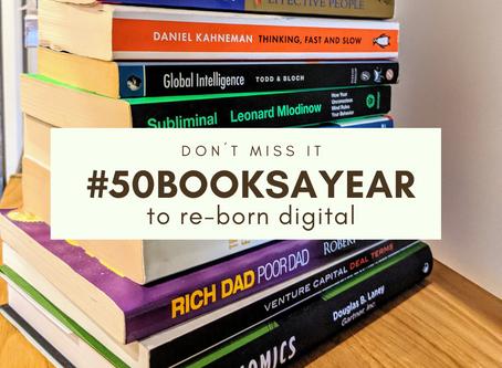 #50booksayear to reborn digital