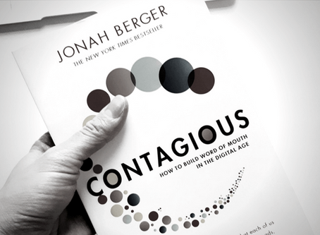 "What everybody should learn from... ""CONTAGIOUS""​ (JONAH BERGER)"