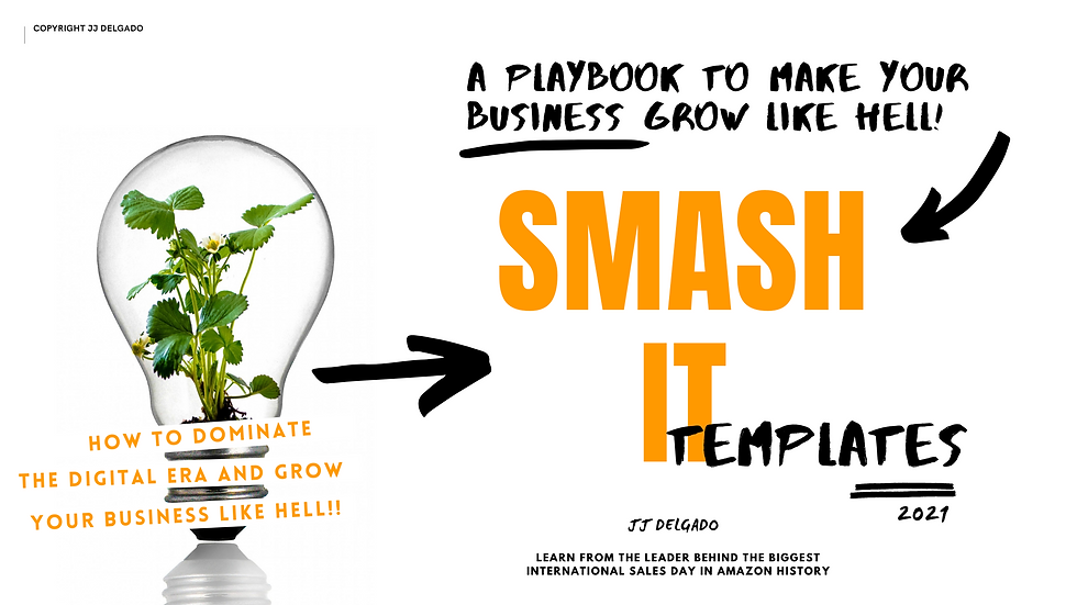 Smash It 50 Templates to dominate the Digital Era & Grow Your Business like Hell
