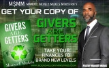 "DO YOU WANT TO INCREASE YOUR FINANCIAL CAPACITY? THEN THE BOOK ""GIVERS ARE GETTERS IS FOR YOU!"