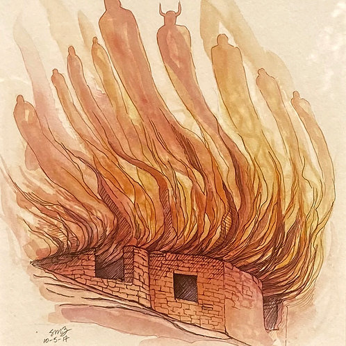 """""""House on Fire"""" by Samantha Zim"""