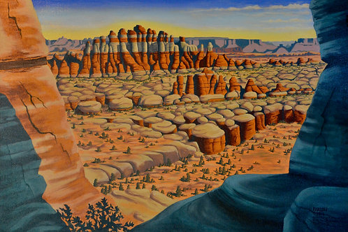 """""""Canyonlands National Park: The Needles"""" by Louis Farlow"""