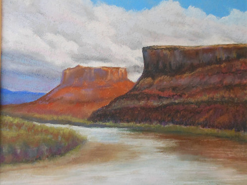 """River Road View"" by Judie Chrobak-Cox"