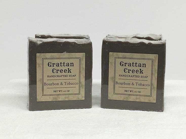 Bourbon & Tobacco Soap