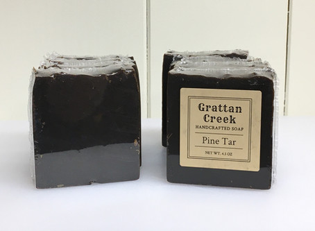 A Few Words about Pine Tar Soap
