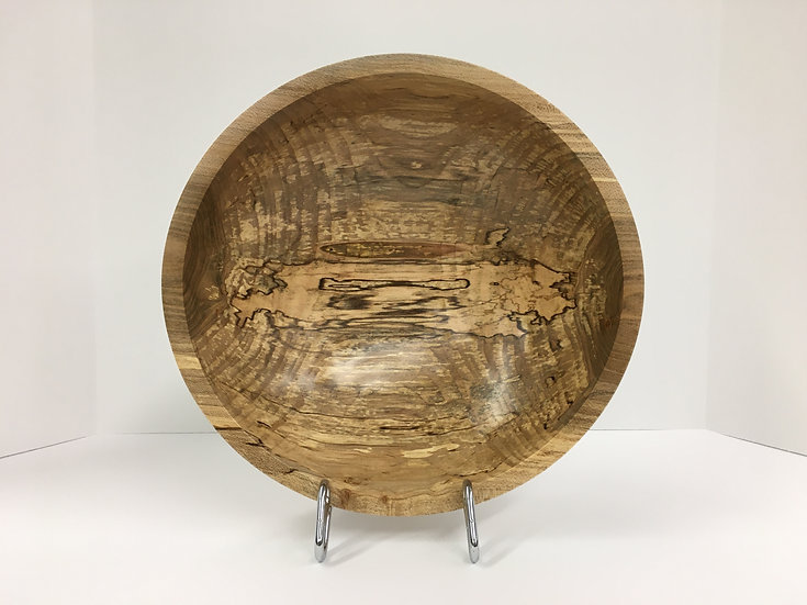 """Spalted Maple Bowl 9-3/4"""""""