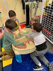 Sensory Bin Group Play during Occupational Therapy