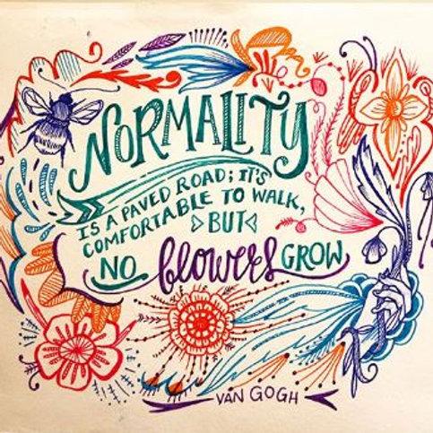 Normality Fine Art Print