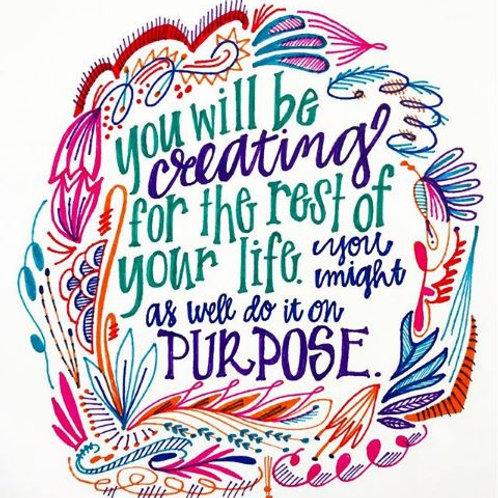 Purpose Fine Art Print