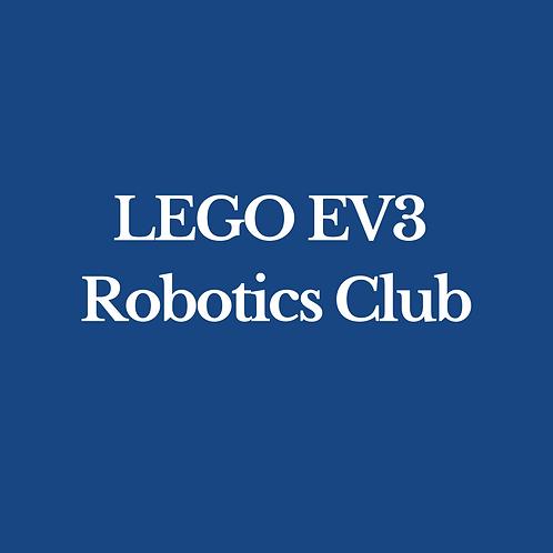 LEGO EV3 Robotics Club