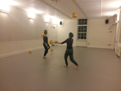 The Moonlanding FLUX DANCE Rehearsal