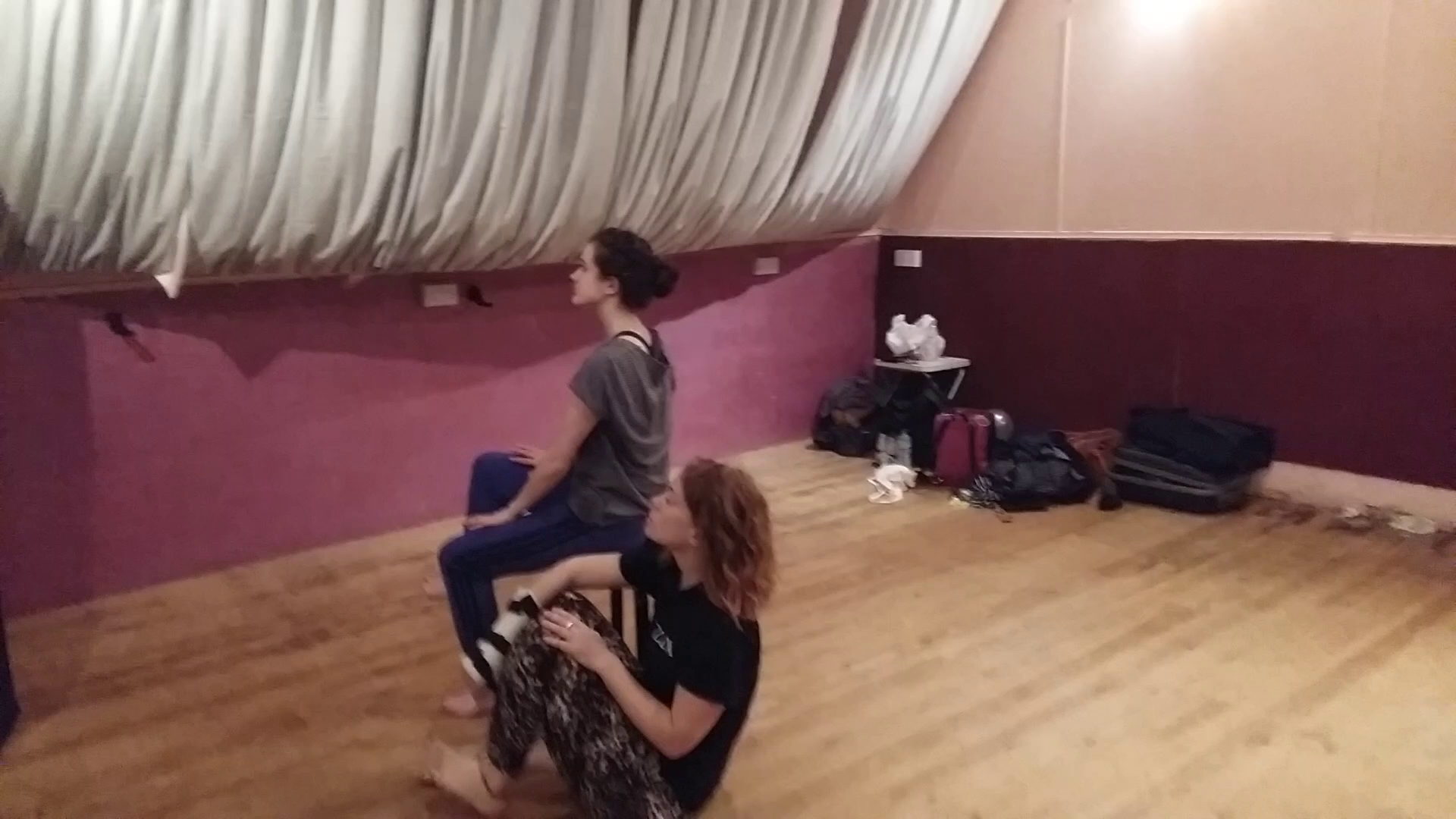 The Moonlanding FLUX DANCE Rehearsal