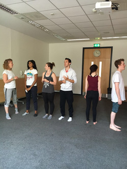 Flux Dance Rehearsal