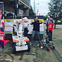 We've had a fantastic day at Robot Day D