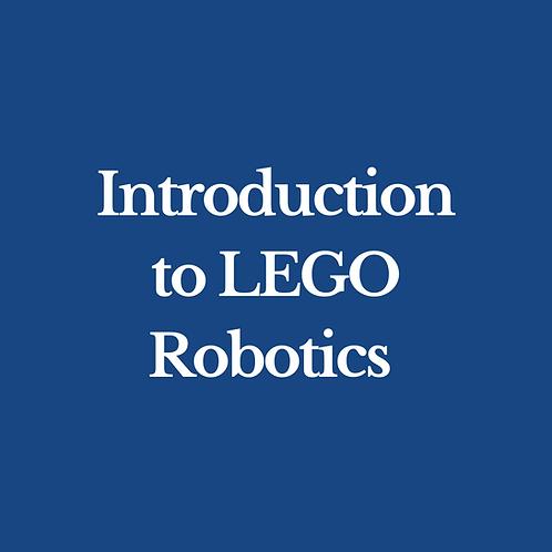 Introduction to Lego Robotics