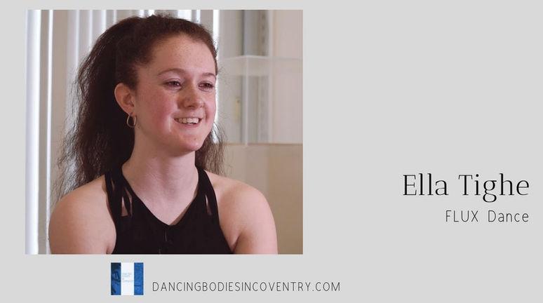 DBiC: Ella Tighe & FLUX Dance