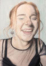 Portrait Portraiture Oil Painting Paints Laugh Happy Art Artist Sky Portrait Artist of the Year