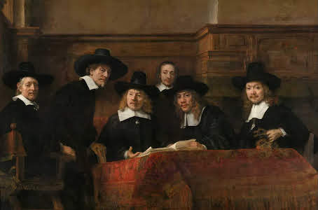 Awesome Rembrandt-like painting