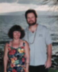 Sue & Russ in Hawaii 1995 Print Small Re