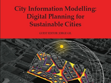 Special issue of the Built Environment journal on City Information Modelling out now