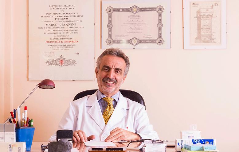 Marco Giannini, medico chirurgo.