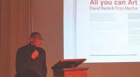 Publieke lezing 'Het Inclusieve Museum' & de praktijk van kunstenaar Tirzo Martha door hemzelf gepresenteerd (25/11/18)