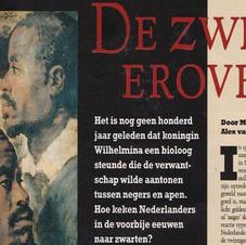 De zweep erover. In Algemeen Dagblad Magazine 30-06-2001, 20-25. Met Mathijs Dicke.