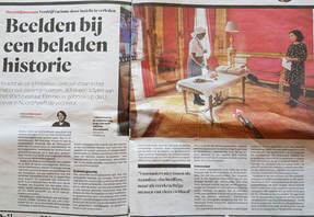 Rapport Nationaal Slavernijmuseum aangeboden aan Amsterdams stadsbestuur.