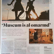 Museum is al omarmd Het Parool 21-10-2017.jpg